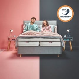 Yours and Mine Dual Firmness Mattress - Memory