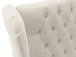 iGel Tiana Buttoned Full Length Headboard