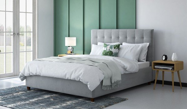 Alexis Ottoman Upholstered Bed Frame