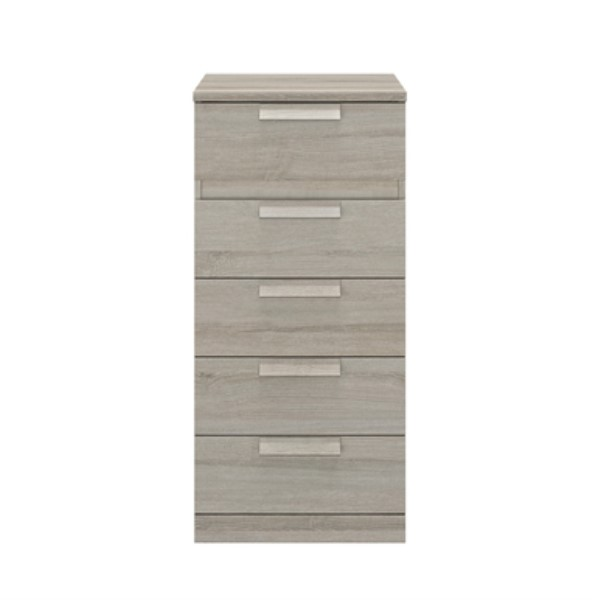 Bergen 5 Drawer Narrow Chest of Drawers