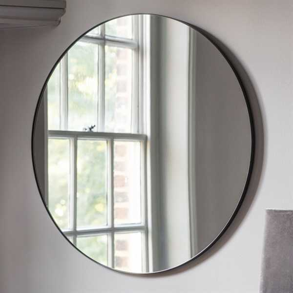 Boston Round Mirror - 80cm