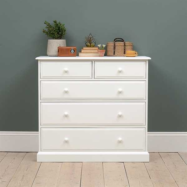 Burford Painted Extra Large 2 Over 3 Chest