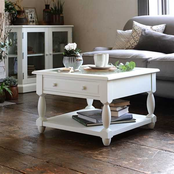 Burford Painted Open Display Coffee Table