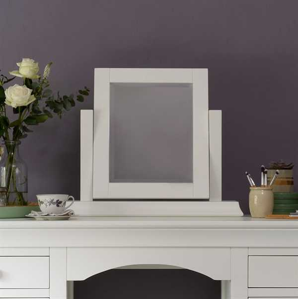 Chantilly White Dressing Table Mirror Want Mattress