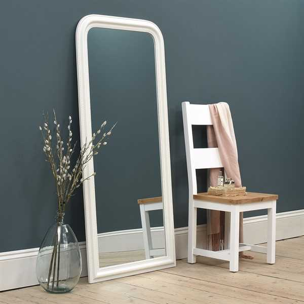 Chantilly White Large Mirror