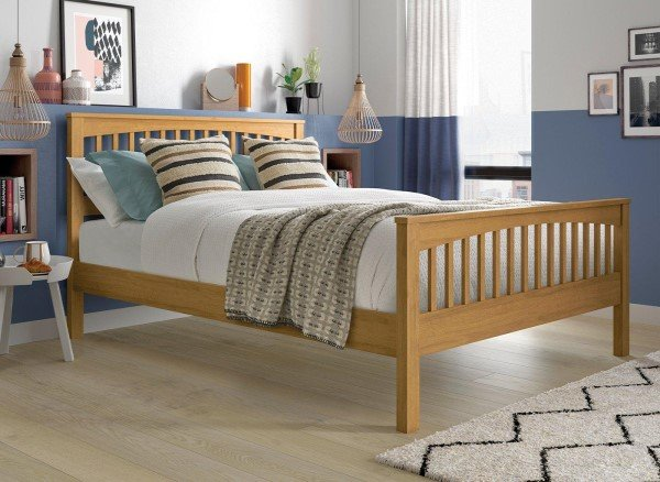 Fleetwood Oak Wooden Bed Frame