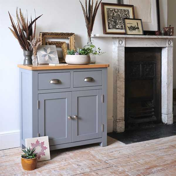 Florence Grey Small Sideboard