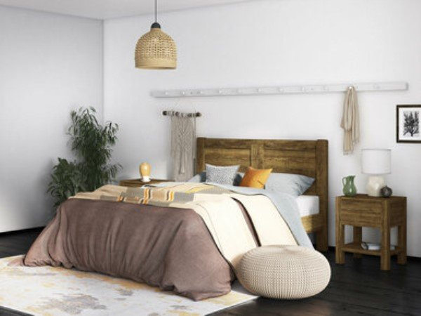 Jackson Recycled Wooden Bed Frame