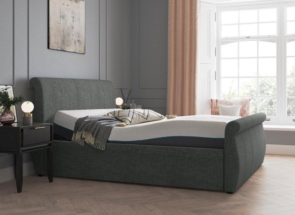 Lucia Sleepmotion Adjustable Upholstered Bed Frame
