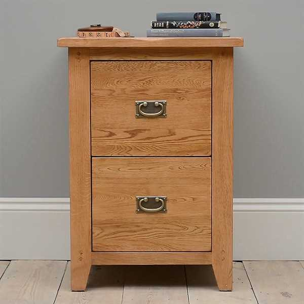Oakland 2 Drawer Filing Cabinet