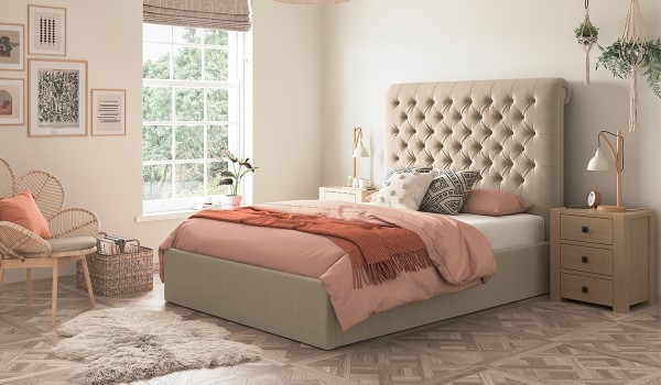 Victoria Ottoman Bed Frame
