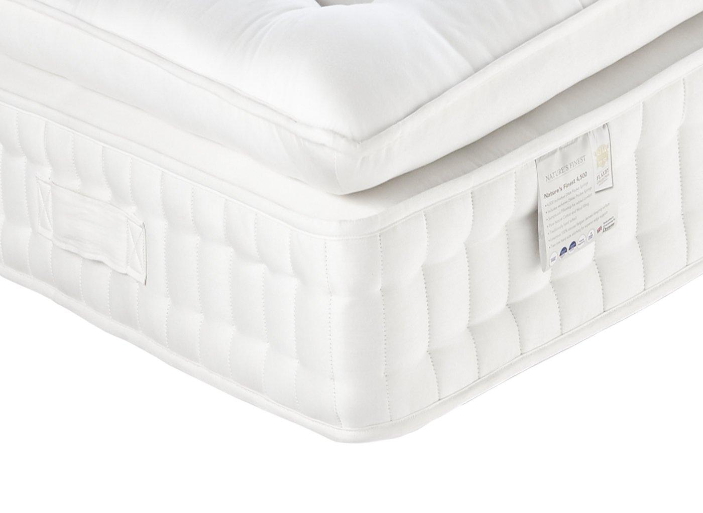 Flaxby Natures Finest 4500 Mattress - Medium / Medium Soft