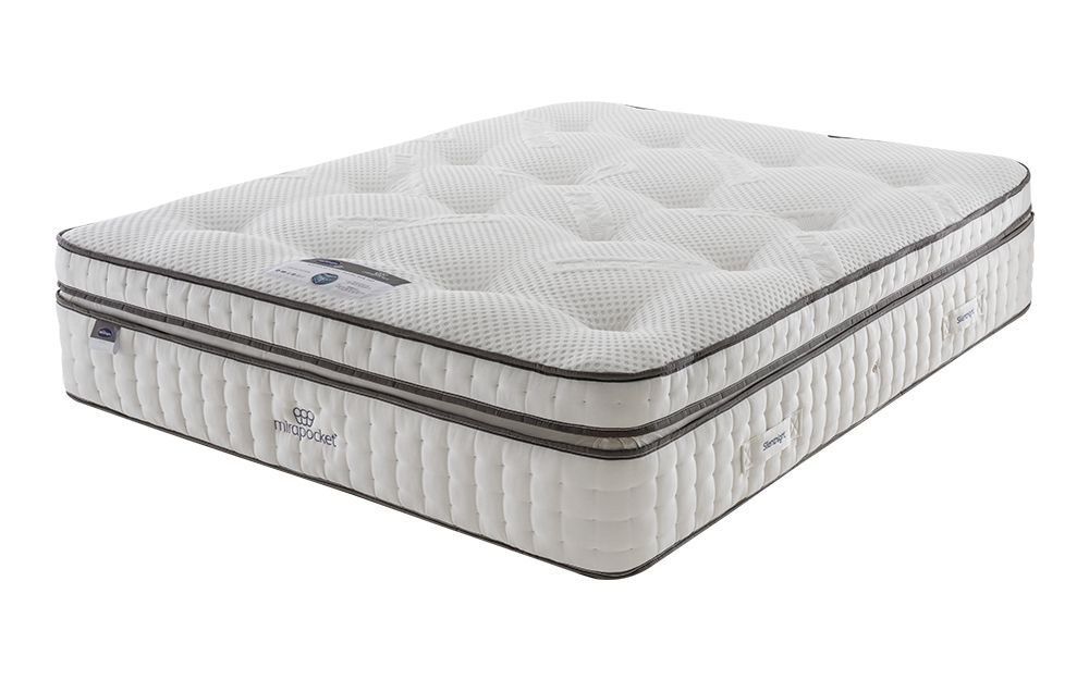 Silentnight Deluxe Box Top Mirapocket 2000 Limited Edition Mattress